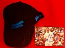 Milos Raonic Signed Tennis Qc Official Babolat Cap & Card With T-shirt
