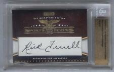 Gehringer Ferrell Dual Autograph 2009 Sports Icons #/25 Signed Detroit Boston
