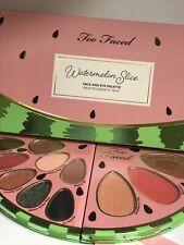 Too Faced Tutti Frutti Watermelon Slice Eye and Face Palette BNWB
