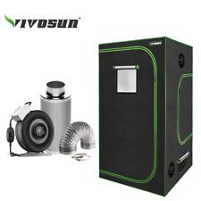 "VIVOSUN Grow Tent 2' x 4' w/ 4"" 6"" inch Inline Fan Carbon Filter Air Ducting Kit"