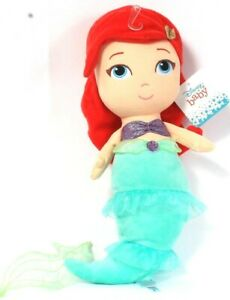 Kids Preferred Disney Baby Ariel The Little Mermaid Plush Doll Age 0 Months & Up