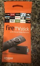 Amazon Fire TV Stick (2nd Gen) Media Streamer with Alexa Voice Remote. Used.