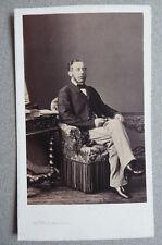 Photo Par Levitsky Cdv Carte de Visite Vers 1860