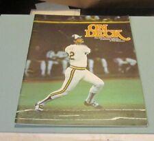 1982 New York Yankees Seattle Mariners Baseball Game Program Gaylord Perry 300th