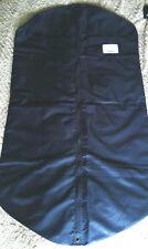 Prada Logo Genuine Suit Dress Dust Travel Cover Black Zipped 119cm long