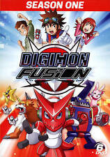 DIGIMON FUSION SEASON 1 ONE Sealed 6 DVD Set NEW