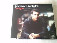 JORDAN KNIGHT - GIVE IT TO YOU - UK PROMO CD SINGLE
