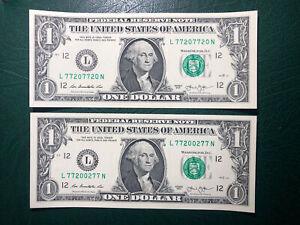 #2 2013 $1 FRN 77207720–77200277  GEM-CU