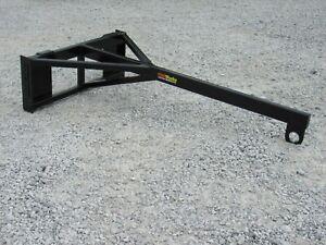 80″ Long Straight Boom Pole Jib Hoist Lift Attachment Fits Skid Steer Loader