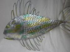 Large Metal Fish Wall Art   (79 x 55cm)