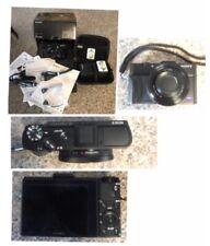sony cyber-shot dsc-rx100 digital camera M2,AC adapter,strap,recharable battery
