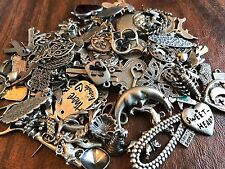ANIMALS & MORE STYLES WHOLESALE JEWELRY BONANZA 50 ASSORTED CHARMS & PENDANTS.