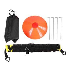 Speed Agility Hurdles Poles Cones Ladders Football Training Sport Equipment Set