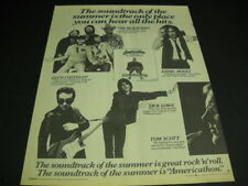 Beach Boys Elvis Costello Eddie Money Nick Lowe 1979 Large Promo Display Ad mint