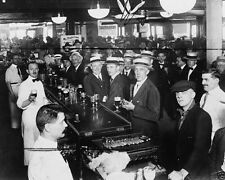 New York City bar minutes before Prohibition goes into effect New 8x10 Photo
