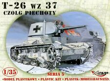 T-26 wz. 37 SOVIET INFANTRY TANK, MIRAGE HOBBY 35308, SCALE 1/35