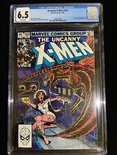 Marvel THE UNCANNY X-MEN #163, 11/82, CGC 6.5 White Pages, Chris Claremont, 2007