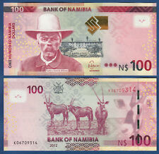 NAMIBIA 100 Dollars 2012  UNC   P. 14