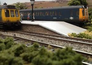 """OO gauge Model Railway Layout Two Sections 5 1/2ft x 17.5"""" DC or DCC - Goathland"""