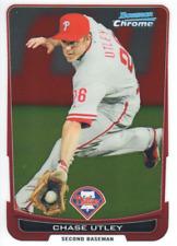2012 Bowman Chrome Baseball #197 Chase Utley Philadelphia Phillies