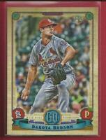 Dakota Hudson RC 2019 Topps Gypsy Queen Rookie Card # 64 St Louis Cardinals MLB