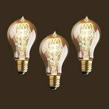 E27 3PCS Vintage 40W Light Retro Edison Style Spiral Filament Light Bulb UK