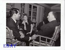 Cary Grant Ingrid Bergman VINTAGE Photo Alfred Hitchcock Notorious