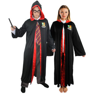 Harry Potter Hermione Gryffindor Wizard World Book Day Costume Ages 4-13