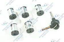 For Citroen Dispatch Synergie XM Xantia New Door Lock Barrel Set of 5 & 2x Keys