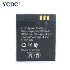 3.7V Rechargeable Li-ion Polymer Battery 350mAh For Smart Watch GT08 Only 35B4