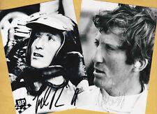 Jochen RINDT (2)  2 SUPER Autogramm - Bilder - Print - Copies + F1 AK signiert