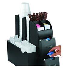 Coffee Organizer Cup Pod Holder Coffee Tea Accessories Storage Caddy w Drawers