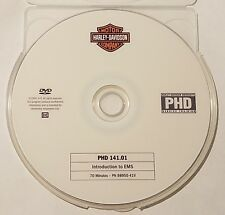 Official Harley-Davidson service training PHD DVD 141.01 Introduction to EMS
