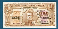 URUGUAY - BILLET de BANQUE 1 PESO Pick n° 35.a de 1939 en NEUF Série C 23293846