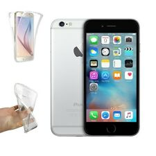 Funda Doble Silicona para IPHONE 6 PLUS Protección Integral Transparente i404