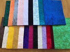22 Velvet Felt Back Fabric Matching Felt Sheet A4 Craft Bow Maker DIY Glitter