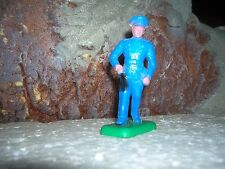 1950's BETON POLICEMAN BT34 Toy Figure Soldier 60mm W/CLUB