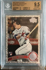 2011 Topps update Mike Trout Diamond BGS 9.5 With 10,10,9.5,9.5 Sub Grades!