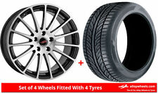 Aluminium A3 Summer Wheels with Tyres