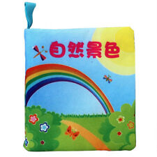 Soft New Cloth Baby Intelligence Development Learn Picture Cognize Book Toy