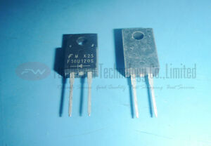 FSC FFPF10U120S Rectifier UF Recovery 1200V 10A TO220 X 10PCS
