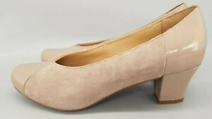 Hotter Rosa Heels Smart Evening Ladies Shoes Soft Beige UK 6.5