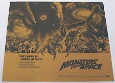 1971 distributor print 11x13 ~ MONSTERS FROM SPACE Ishiro Honda
