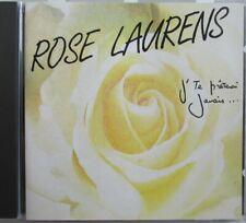 """Rose Laurens - CD """" J'Te Prêterai Jamais """" - Goldman - Francis Cabrel - Comme"""