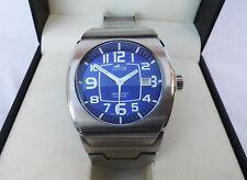 reloj Lotus pulsera metal esfera Azul  Unisex 42mm Stainless Steel watch