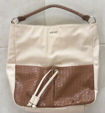 NINE WEST Caramel Tote Bag Leather Handbag New Without Tags