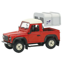 Tomy 42732 Britains Big Farm Land Rover Defender 90 + Canopy 3 + Brand New