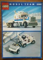 Lego 5580 Highway Rig Instructions only Rare Vintage