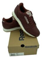 Reebok Classic Leather CM Men's Trainers Running Shoes - CN1564 - Burgundy
