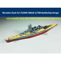 Wooden Deck for FUJIMI 46018 1/700 Scale IJN Battleship Kongo Model 金剛